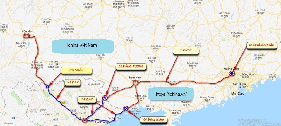 Vị trí đặc biệt của Đông Hưng Trung Quốc